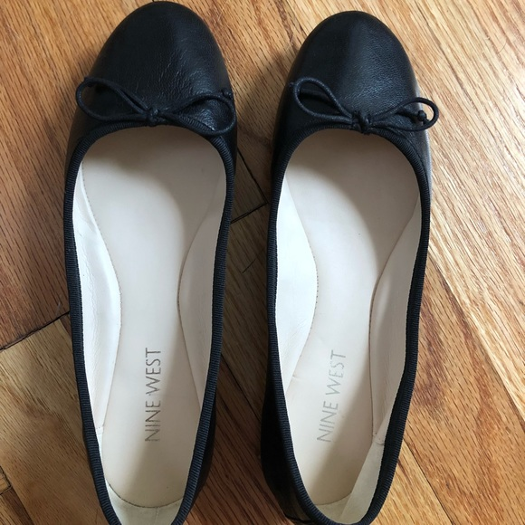 latest trends of 2019 online special selection of Nine West Black Classica Ballet Flats Size 5